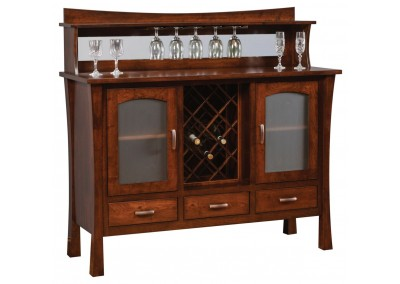 Woodbury Buffet with Wine Rack
