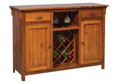 #351 Kieran Buffet with Wine Rack