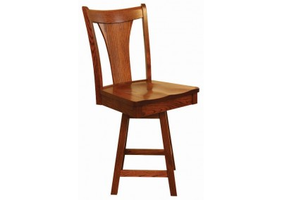 "Falcon 24"" Bar Stool w/ Swivel"