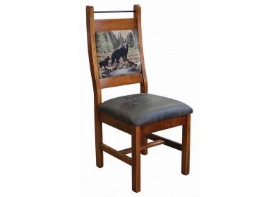Tony Side Chair Fabric & Bar