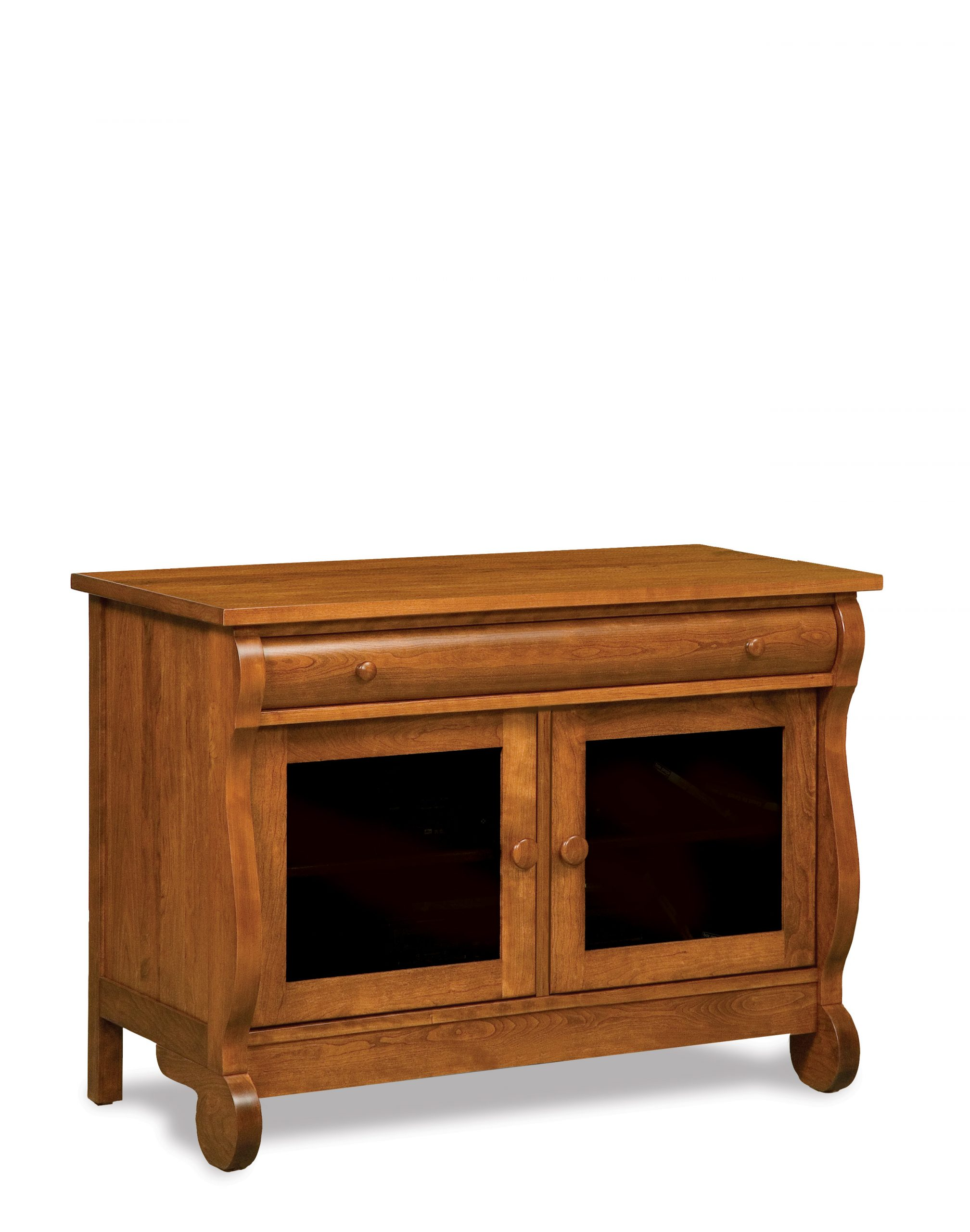 Old Classic Sleigh TV Stand
