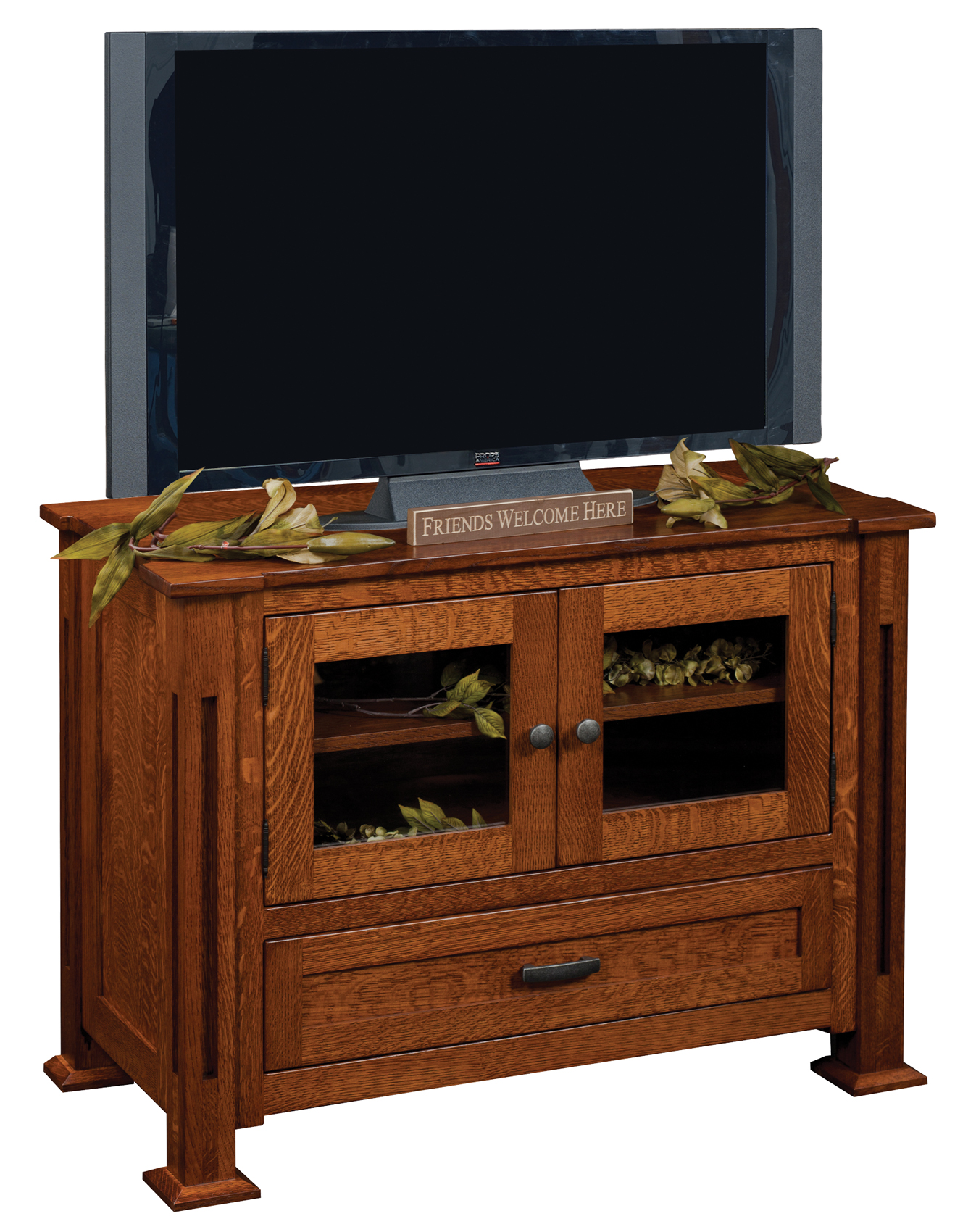 Parker Mission TV Stand