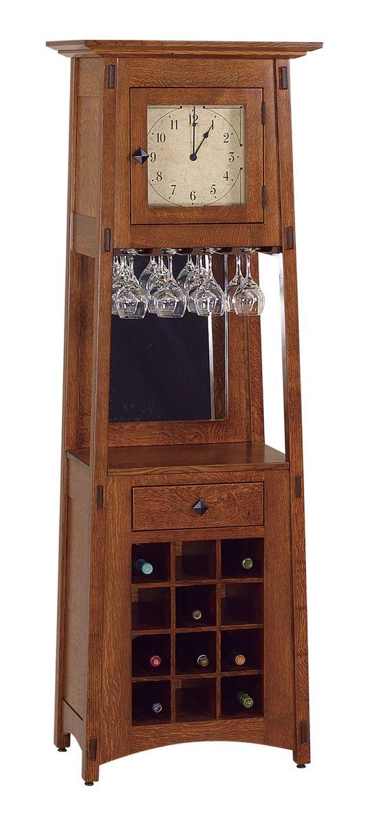 McCoy Wine Clock