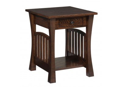 Gateway End Table W/ Drawer