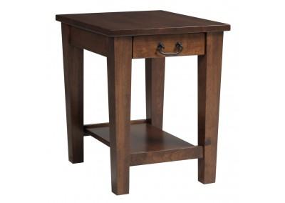 UrbanShaker-End Table - Drawer