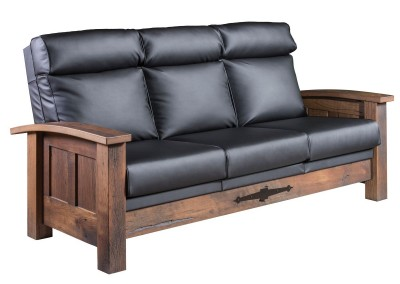 Kimbolton Sofa -shown with full leather