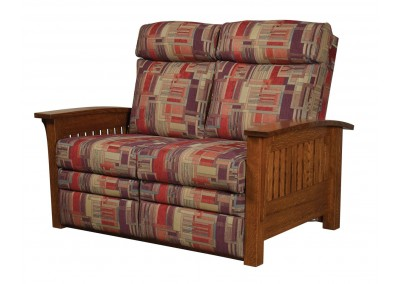 Mission-Loveseat-Recliner