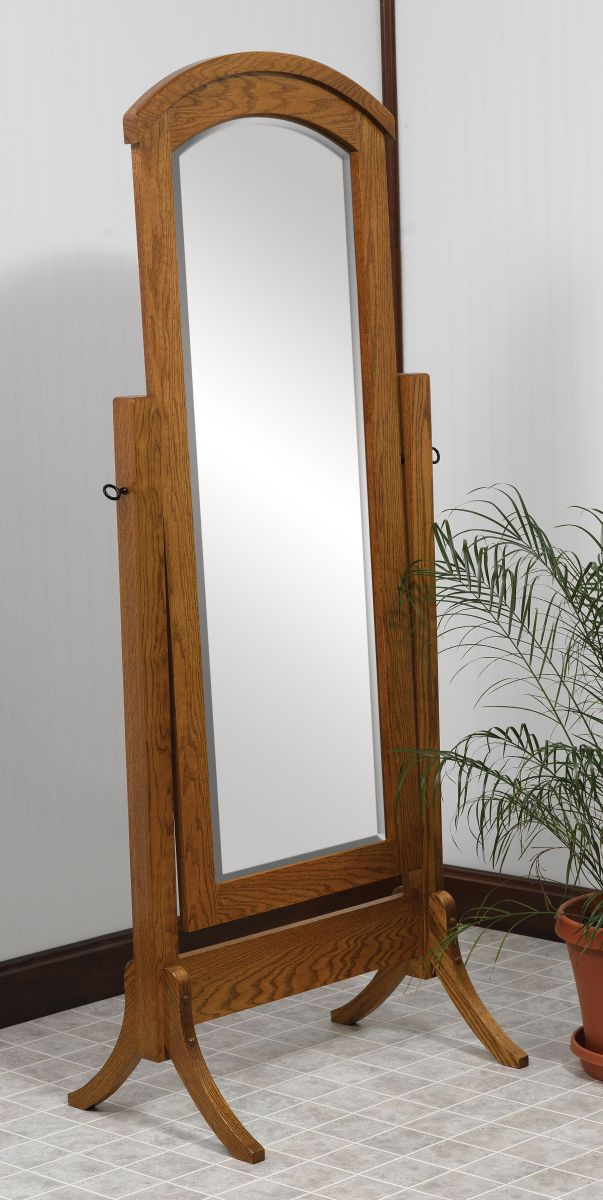 Shaker Cheval Mirrors