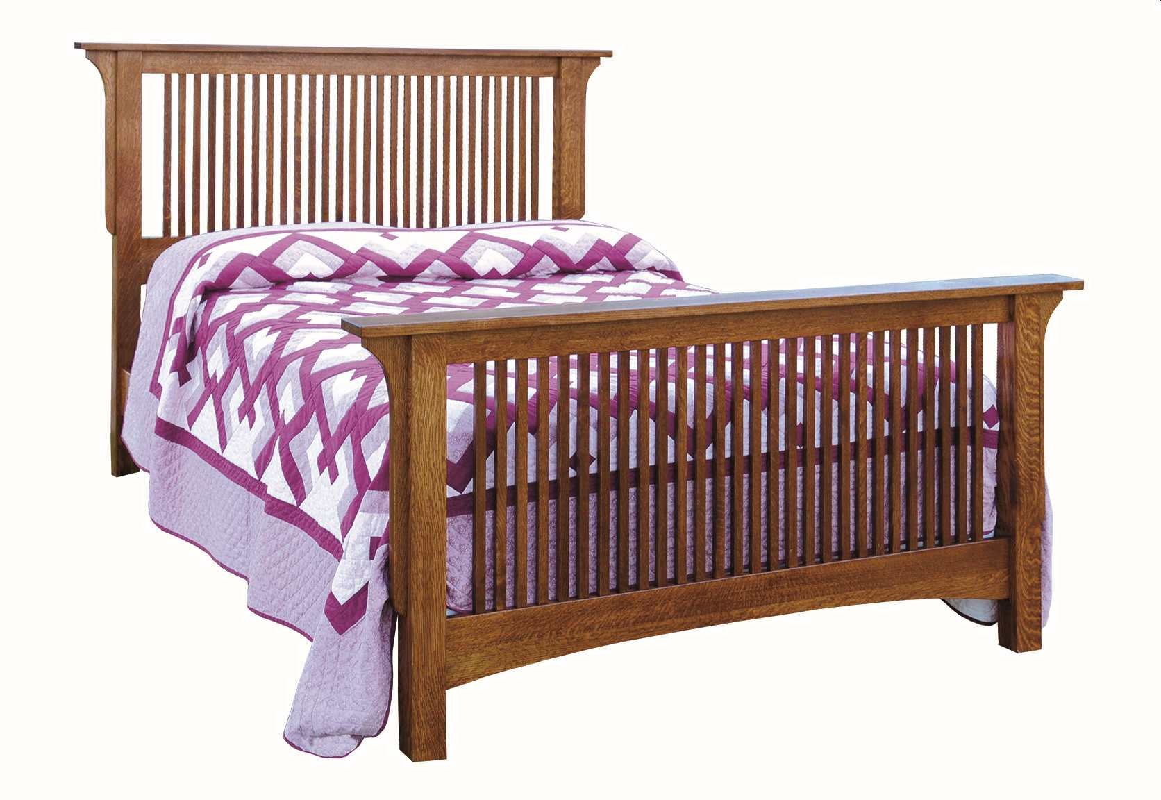 Empire Mission Bed