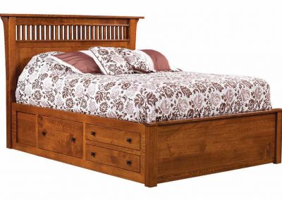 Empire-Mission-Bed-with-003-drawer-unit-803