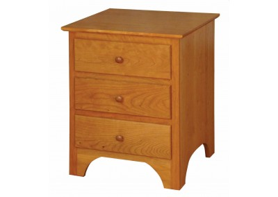 421 3-drawer Nightstand