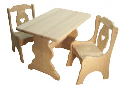 Trestle Childs Table