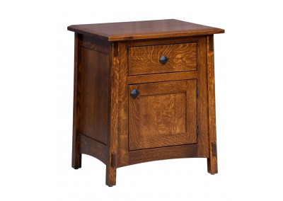 McCoy 1 Drawer 1 Door Nightstand
