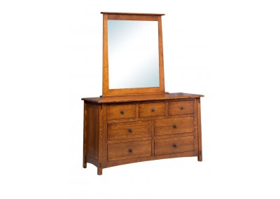 306 -  6 Drawer Dresser with Mirror