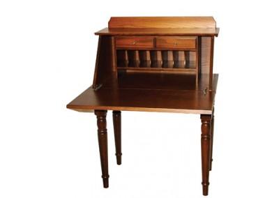 Secretary Desk Turned Leg Open