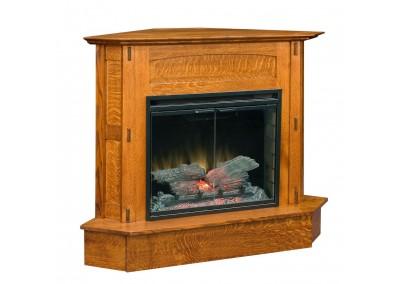 Modesto Fireplace [Corner]