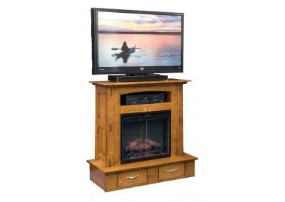 Modesto Fireplace Entertainment Option