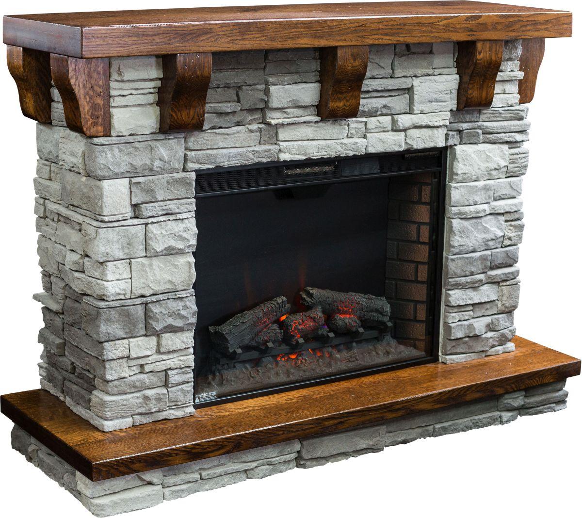 Rock Ledge Fireplace