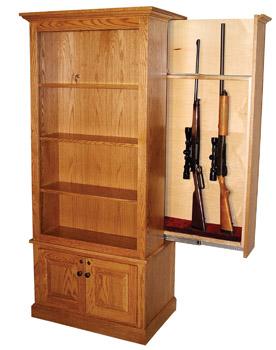 Miller Hidden Gun Cabinet