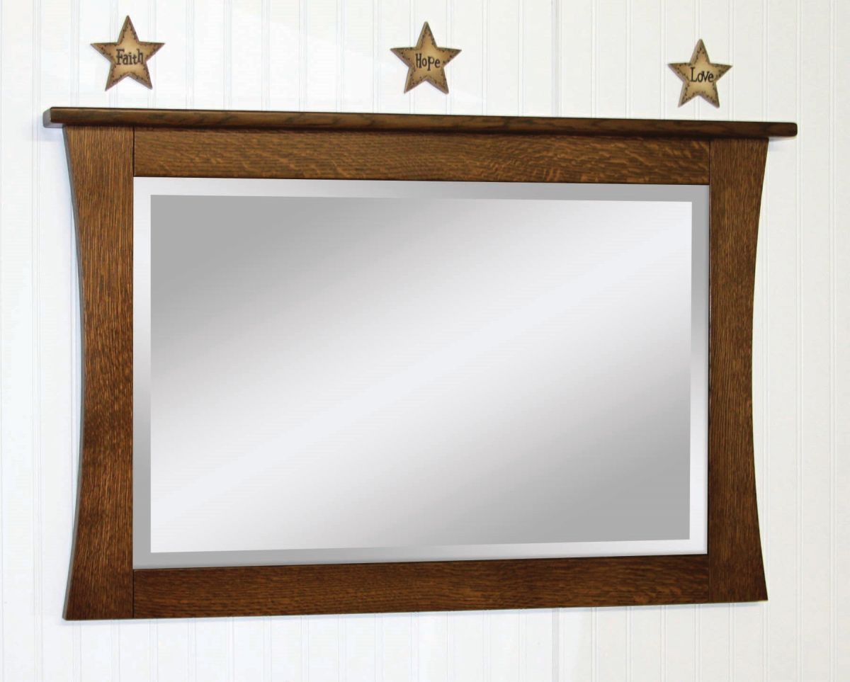 Trenton Shaker Wall Mirror