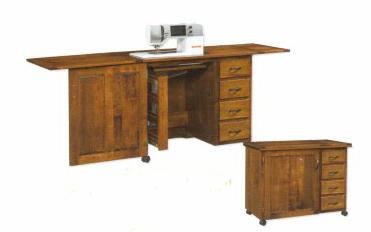 #103 Single Door Sewing Cabinet